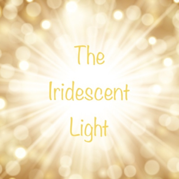 iridescent light banner